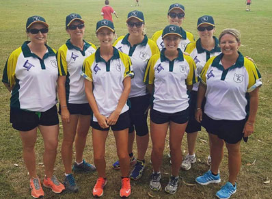 Womens Cricket Sponsor is Leenane Templeton Accountants