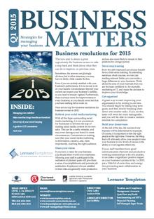 Business Matters Q1 2015