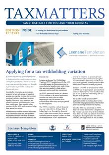 Tax Matters Dec 2015