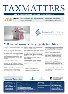 Tax Matters March 2016