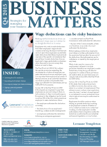 Business Matters Oct 2015