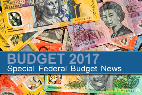 Federal Budget News Release 9th May 2017