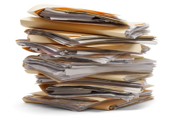 Clearing out your documents for the new year
